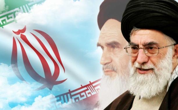 Имам Хомейни  и  Хаменеи